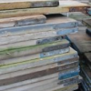 Reclaimed scaffolding boards at £1 per metre