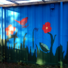 Mural for William Paton Community Garden in Newham