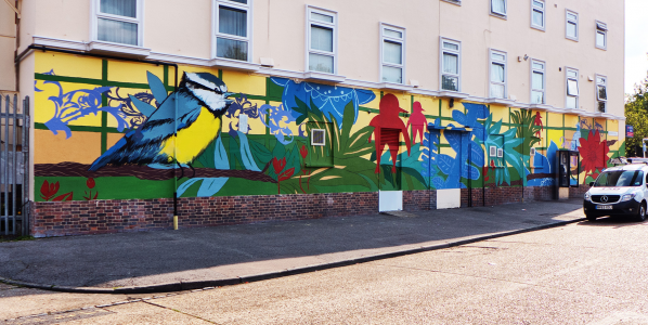 Hatch Lane Mural!