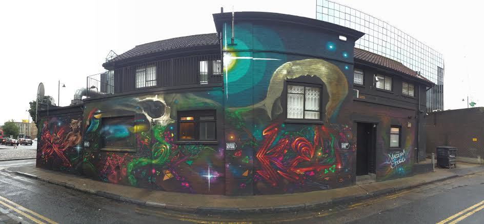 Hackney Mural 3 Pic 1